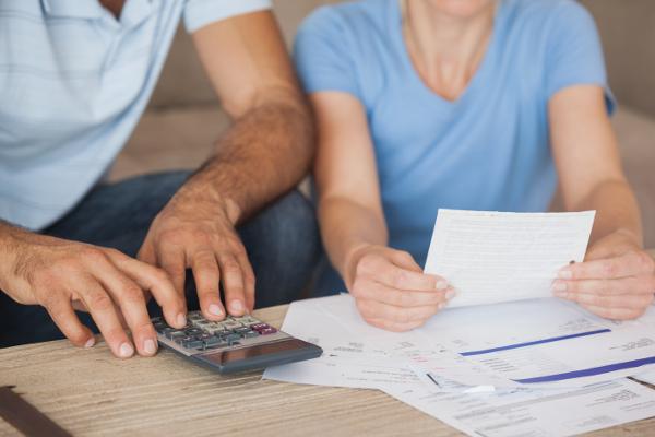 Custo das Contas domésticas em Dublin para casais