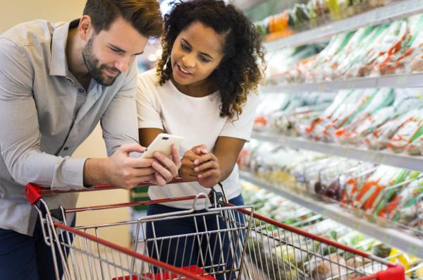 Custo do Supermercado em Dublin para casais