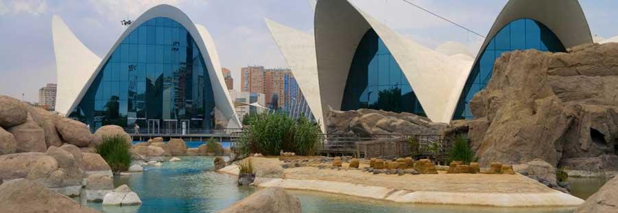 Ciudad De las ciencias en Valencia